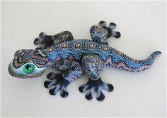Jon Anderson Fimo Creations Fimo Geckos
