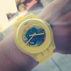 YELLOW LACQUERED http://swat.ch/1bibi6s  #Swatch