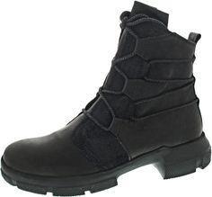 Damen Stiefeletten Schuhe Plateu Sohle Lack Reptil Optik Reißverschluss 36-41