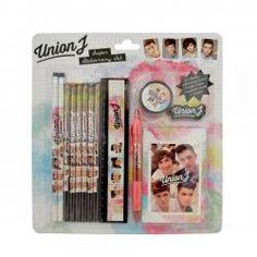 Union J - Super stationery set