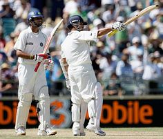Sachin Tendulkar and Rahul Dravid shared a 100-run partnership for the 16th time in Tests, Australia v India, 3rd Test, Perth, 1st day  200th.in