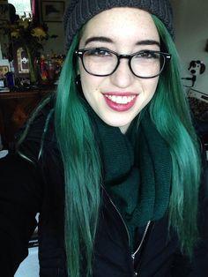 Light Green Hair   Light Green Hair Tumblr Dark green hair tumblr.
