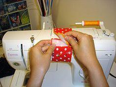 Braçadeira para máquina de costura