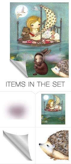 """""""bedtime story"""" by lvoth ❤ liked on Polyvore featuring art"""