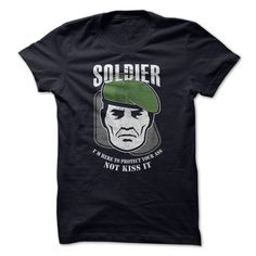 Soldier T-Shirts, Hoodies. GET IT ==► https://www.sunfrog.com/Offensive/Soldier-9349995-Guys.html?id=41382