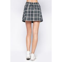 90s Lullaby RIVERDALE HUNTER GREEN SKIRT (215 ARS) ❤ liked on Polyvore featuring skirts, mallard, tartan skirt, tartan plaid pleated skirt, ruched skirt, red plaid skirt and red skirt