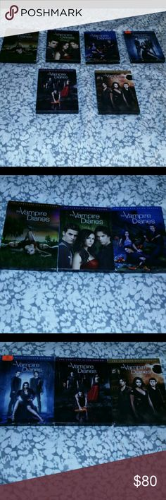 Vampire diaries complete seasons 1-6 on dvd Vampire diaries complete seasons 1-6 on dvd used but in good working condition Other