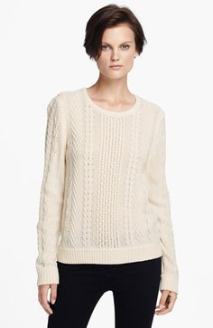 peyton cabled sweater / rag & bone