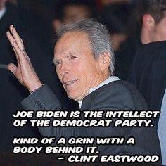 Good ol' Slow Joe Biden - the grin with a body behind it!