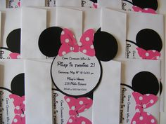 Minnie mouse birthday party ideas - 1