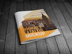 Booklet Catalog Mockup @creativework247