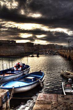 Gallipoli, Salento, province of Lecce , Puglia region Italy