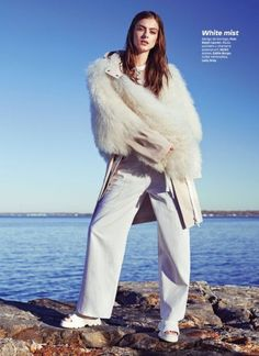 Lone Praesto Models Resort Season Looks for Glamour Mexico