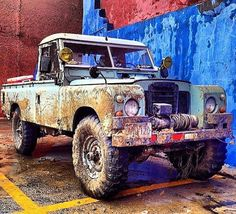 Land Rover Series 3 109 One Ton Pick-up. In average presentation. Landrover Defender, Defender 90, Land Rover Serie 3, Cool Trucks, Cool Cars, 4x4 Trucks, Land Rover Pick Up, Hors Route, Offroader