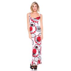 Stanzino Women's Geometric Print Tank Dress