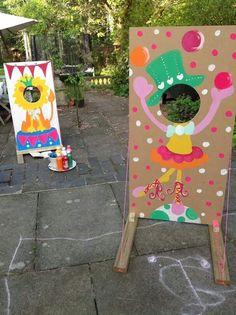 Animation anniversaire Plus Diy Carnival Games, Circus Carnival Party, Kids Carnival, Circus Theme Party, Carnival Themes, Circus First Birthday, 2nd Birthday Party Themes, Carnival Birthday Parties, Girl Birthday