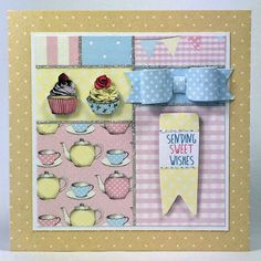 Craftwork Cards Blog: Just time for a cuppa - 'Love a cuppa' card by Neil Burley