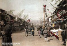 @1906年 神戸の商店街