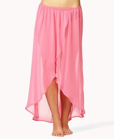 chiffon long skirt from FOREEVER21 for pole dancing and casual outing! love the flowing shape. very friendly price.