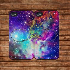 BEST FRIENDS,Fox Nebula--Iphone 4 Case,Iphone 4s Case,Iphone 4 Cover,In Plastic Or Silicone Case