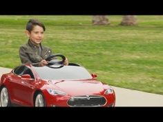 There are now Teslas for kids and I'm still driving my mom's car.This commercial for the kids' version of a Tesla Model S is just like a real car commercial, except in a world where adults are actually children with expensive clothes.It's pretty much just a real car.A normal car, with fancy paint and