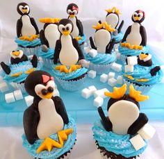 Penguin Cupcakes 5