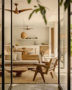 Interior Architecture, Interior And Exterior, Home And Living, Living Room, Living Area, Interior Minimalista, Rustic Walls, Interiores Design, Building A House