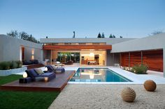 modern landscape + pool design. beautiful, minimal, intentional.