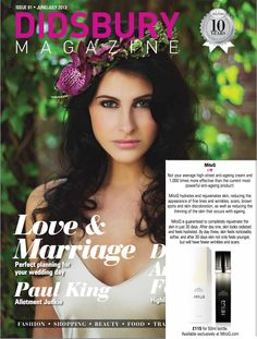 Didsbury magazine featured MitoQ in its section 'Editor's Choice - We Love'.