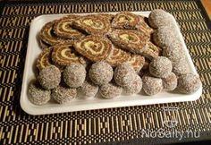 Kókuszrúd és -golyó kdrita konyhájából Hungarian Cake, Hungarian Recipes, Sausage, French Toast, Cereal, Cookies, Breakfast, Food, Retro