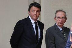 Renzi sfoglia rosa per il Colle: Padoan, Mattarella, Veltroni - Yahoo Notizie Italia