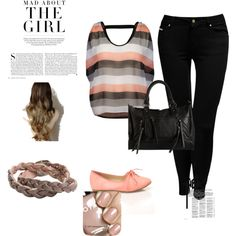 """""""peach"""" by oswin-pond on Polyvore"""