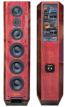 Dayton Audio - Xenia loudspeakers designed by PBN Audio High End Speakers, Big Speakers, Sound Speaker, Home Speakers, Floor Speakers, Speaker Kits, Speaker Plans, Audiophile Speakers, Hifi Audio