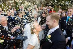 How to get that unique confetti shot with the wow factor