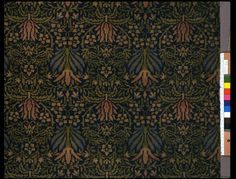 Designed by William Morris, ca. this carpet was manufactured for Morris & Co. by Yates & Co. (later Wilton Royal Carpet Factory Ltd). William Morris, Art And Craft Design, Design Art, Craftsman Rugs, Carpet Samples, Design Movements, Victorian Art, Medieval Art