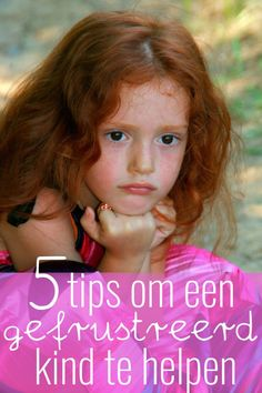 5 tips om een gefrustreerd kind te helpen
