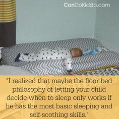 A Montessori Floor Bed And… #newbornsleep Baby Crib Bedding, Blue Bedding, Toile Bedding, Chevron Bedding, Neutral Bedding, Modern Bedding, Dorm Bedding, Luxury Bedding, Baby Floor Bed