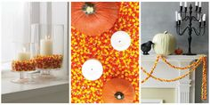 Use the beloved Halloween treat to add a festive touch to your home for the spooky holiday.