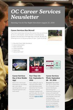 OC Career Services Newsletter