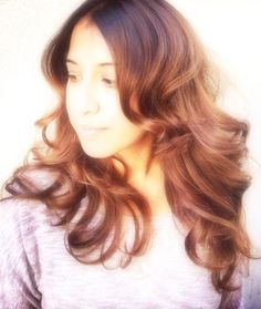 Ombre-balayage hair color highlights http://martinrodriguez.com/hair-color/Ombre-balayage-highlights/index.html#.UxpcANxIi5c