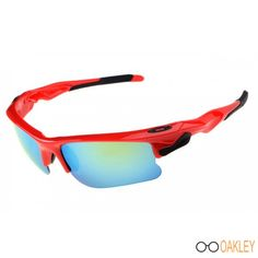 365d05c2eb1a Fast Jacket - Polished Red Ice Iridium Sunglasses Outlet