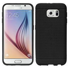 Insten Rugged Slim Soft Silicone Skin Rubber Phone Case Cover For Samsung Galaxy S6 #2089137