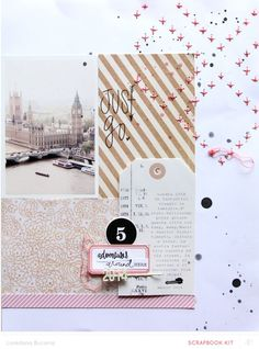 #papercraft #scrapbook #layout. Adventuresaroundhere