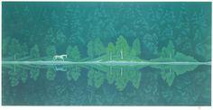 東山魁夷 緑の詩