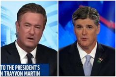 Scarborough To Hannity: 'There is no defense for shooting down a young black man in a middle class neighborhood with Skittles.' (VIDEO)