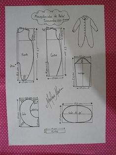 Baby Girl Dresses, Baby Dress, Baby Patterns, Sewing Patterns, Sewing Blouses, Baby Sewing Projects, Baby Doll Clothes, Baby Boy Rooms, Kids Outfits