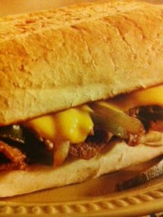 Easy crockpot recipes: Philly Cheesesteak Crockpot Recipe