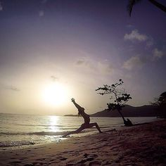 """Repost from Instagram ! #WeLike ! #Madinina by @namastayhappy """"Sometimes the smallest step in the right direction ends up to be the biggest step of your life.  #yoga #yogi #yogini #beachyoga #yogagirl #fitspo #fitness #martinique #throwback #beach #goodvibes #positive #lifestyle #mindset #happy #lovelife #sport #healthy #amazing #nature #whataview #dream #paradise #breathe #relax #peaceful #bliss"""" http://ift.tt/1rHX5yy"""