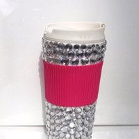 """bling hot coffee tumblers 