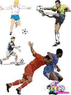 Football Player Vector - Download